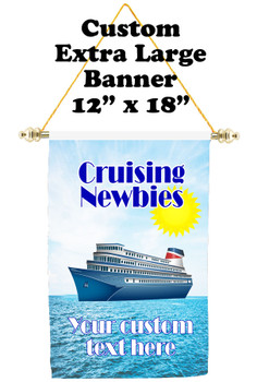 Cruise Ship Door Banner - Extra-Large Banner - newbies 1
