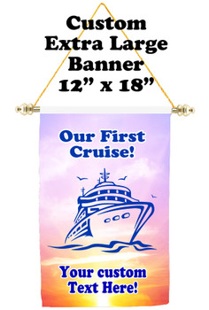 Cruise Ship Door Banner - Extra-Large Banner - newbies 2