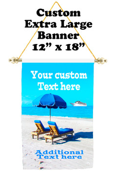 Cruise Ship Door Banner - Extra-Large Banner - paradise 2