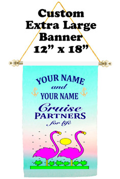 Cruise Ship Door Banner - Extra-Large Banner - partners 2