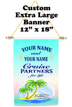 Cruise Ship Door Banner - Extra-Large Banner - partners 3