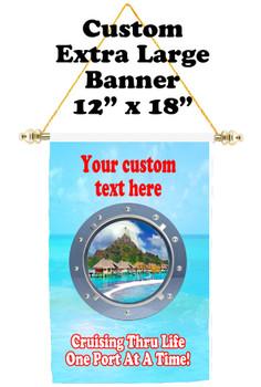 Cruise Ship Door Banner - Extra-Large Banner - porthole 2
