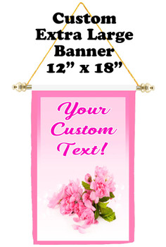 Cruise Ship Door Banner - Extra-Large Banner - roses 1