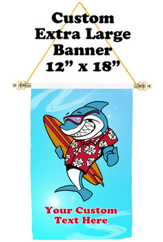 Cruise Ship Door Banner - Extra-Large Banner - shark