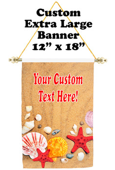 Cruise Ship Door Banner - Extra-Large Banner - shells