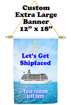 Cruise Ship Door Banner - Extra-Large Banner - shipfaced