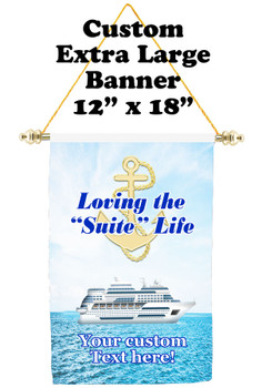 Cruise Ship Door Banner - Extra-Large Banner - suite life