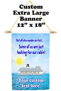 Cruise Ship Door Banner - Extra-Large Banner - wander 2
