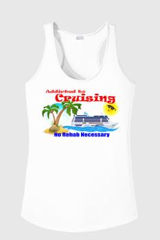 Cruise theme tank top - Addicted