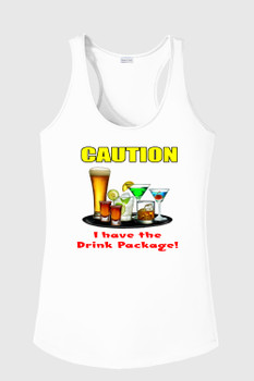 Cruise theme tank top - Caution
