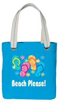 Cruise theme tote bag with colorful design