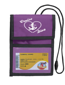 Cruise Card Holder Deluxe - Choice of color - 002