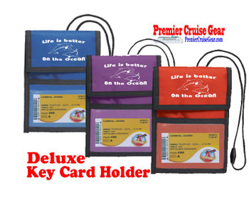 Cruise Card Holder Deluxe - Choice of color - 003