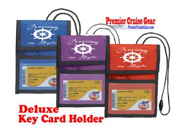 Cruise Card Holder Deluxe - Choice of color - 004