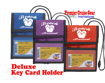 Cruise Card Holder Deluxe - Choice of color - 005