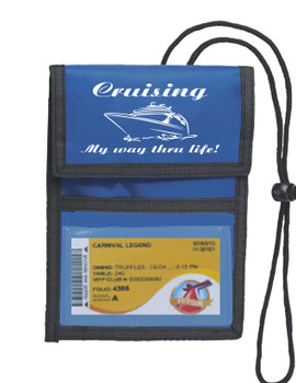 Cruise Card Holder Deluxe - Choice of color - 007