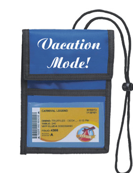 Cruise Card Holder Deluxe - Choice of color - 009