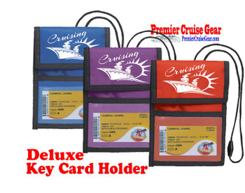 Cruise Card Holder Deluxe - Choice of color - 010