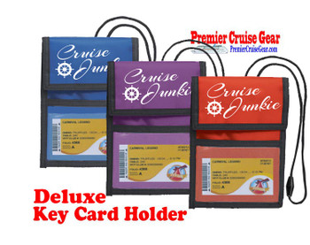 Cruise Card Holder Deluxe - Choice of color - 011