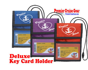 Cruise Card Holder Deluxe - Choice of color - 012