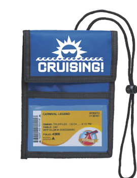 Cruise Card Holder Deluxe - Choice of color - 015