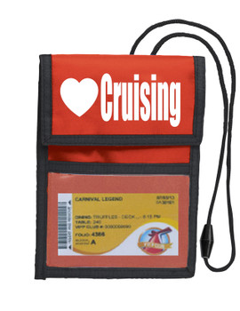 Cruise Card Holder Deluxe - Choice of color - 016