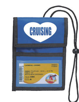 Cruise Card Holder Deluxe - Choice of color - 017