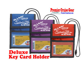 Cruise Card Holder Deluxe - Choice of color - 018