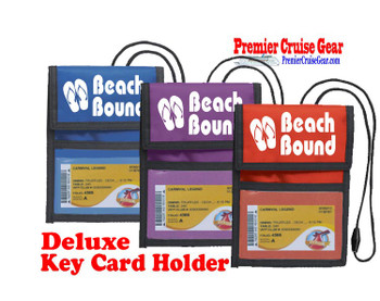 Cruise Card Holder Deluxe - Choice of color - 019