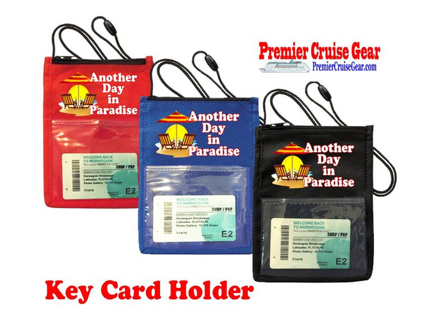 Cruise Card Holder - Choice of color