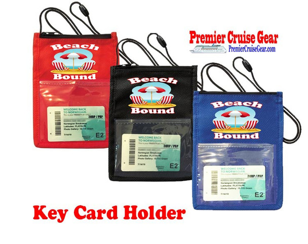 Cruise Card Holder - Choice of color. Design 002