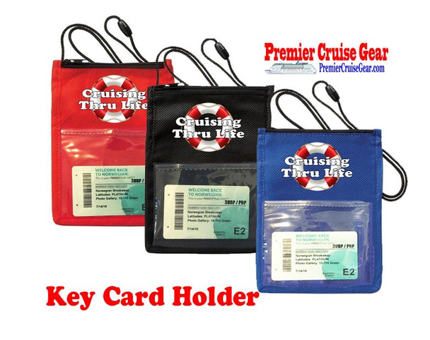 Cruise Card Holder - Choice of color. Design 003