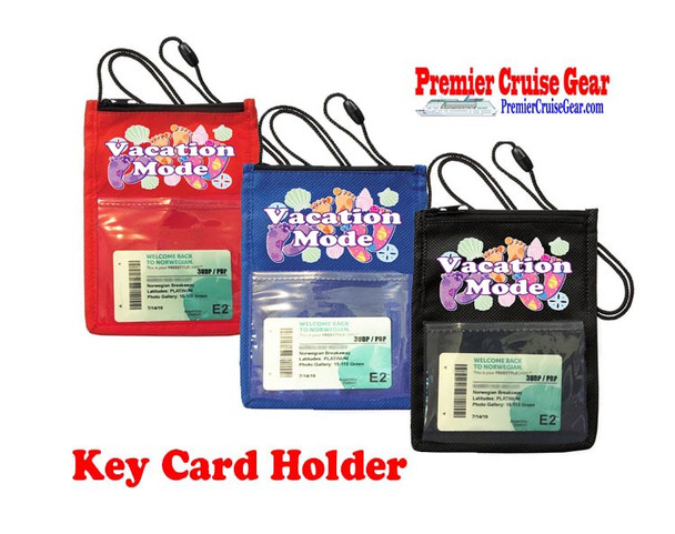 Cruise Card Holder - Choice of color. Design 006