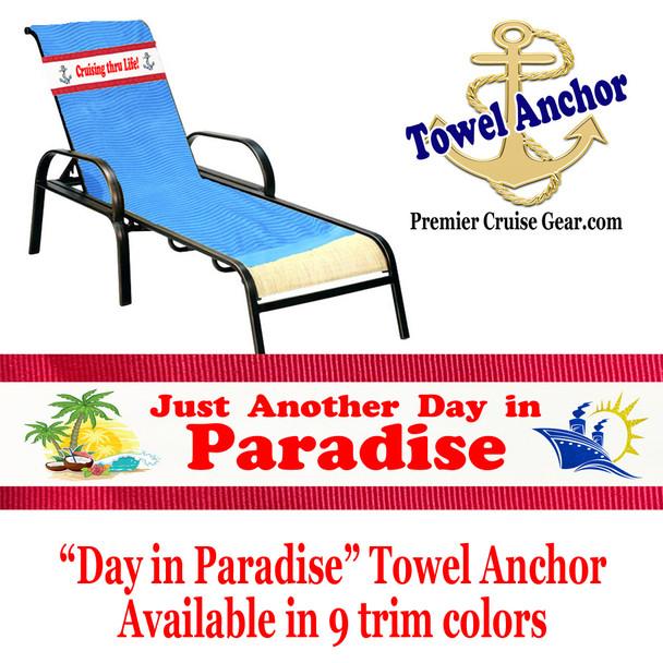"Towel Anchor - ""Paradise 1"""