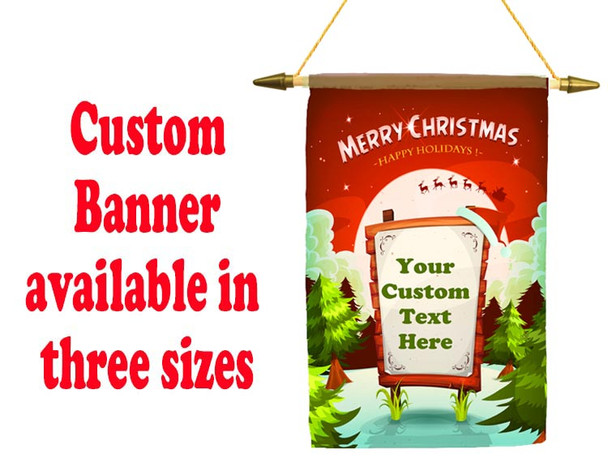 Cruise Ship Door Banner -  available in 3 sizes.      Holiday 36