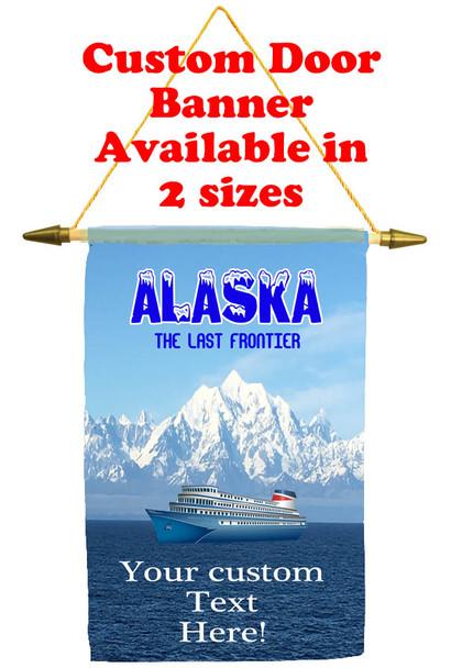 Cruise Ship Door Banner - Alaska 1