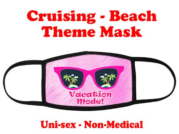 Cruising and Beach theme mask - design 010