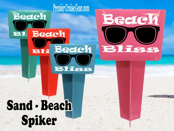 Beach - Sand Spiker.  Keep your drinks sand free.  Design 024
