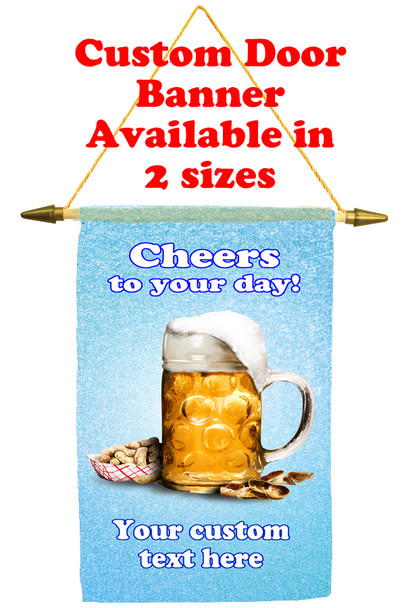Cruise Ship Door Banner - Cheers 1