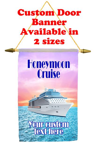 Cruise Ship Door Banner - Honeymoon 1