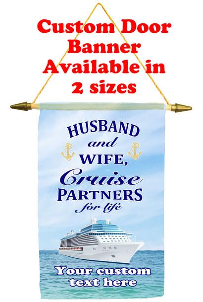 Cruise Ship Door Banner - Husband & Wife 1