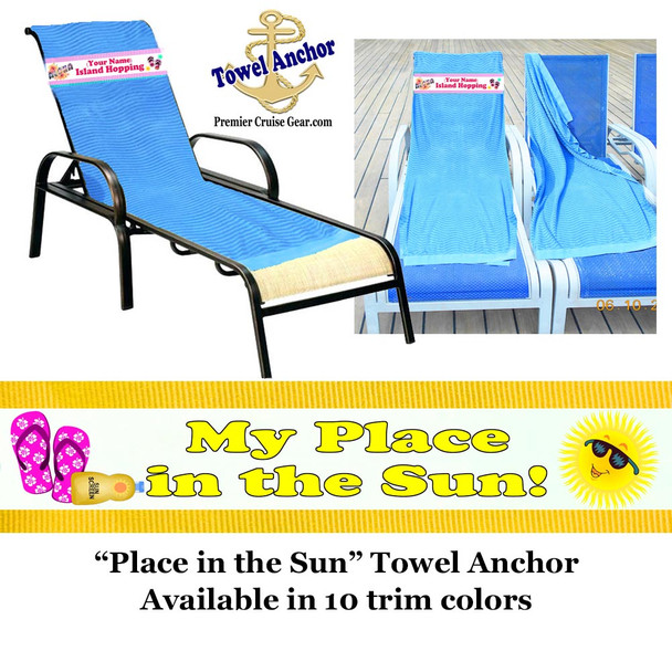 Towel Anchor -Place in the sun