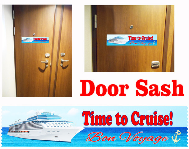 Cruise cabin door sash - 003