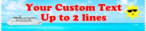 Cruise cabin custom door sash - custom 002