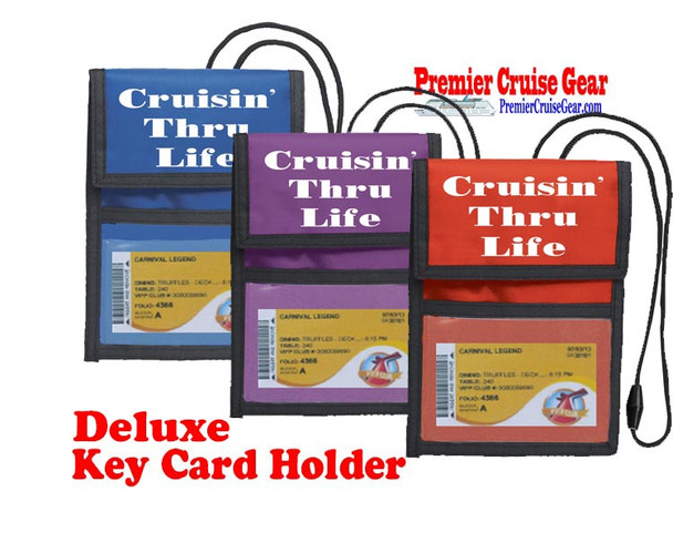 Cruise Card Holder Deluxe - Choice of color - 008
