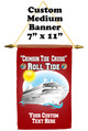 "Cruise Ship Door Banner -  available in 3 sizes.    Custom with your text!  ""Roll Tide"""