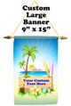 Cruise Ship Door Banner -  available in 3 sizes.     Sign