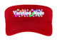 Cruise Visor - Choice of visor color with full color art work - Vacation Mode