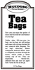Fill Your Own Tea Bags - 25 ct.