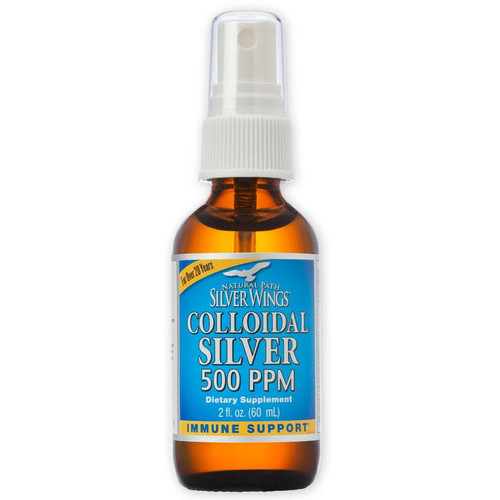 Colloidal Silver 2oz Spray (500ppm)